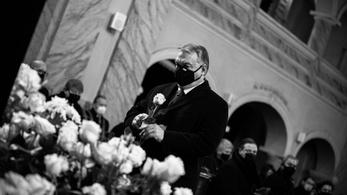 Orbán Viktor végső búcsút vett Kriza Ákostól