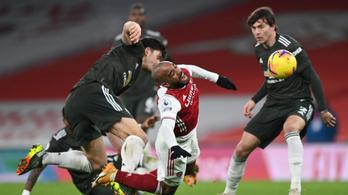 Hét éve nem történt ilyen az Arsenal és a Manchester United ütközetén