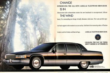 Az 1993-as Fleetwod reklámanyaginak egyike