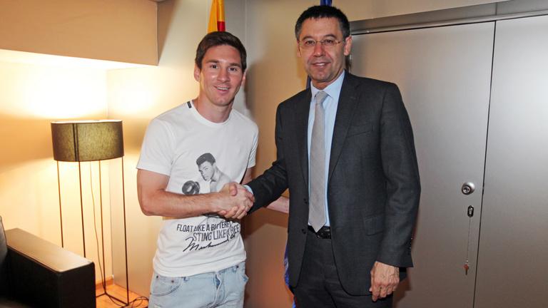 Messi kapzsisága csődközelbe sodorta a Barcát