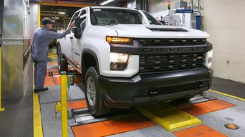 2035-re teljesen átáll elektromos autókra a GM