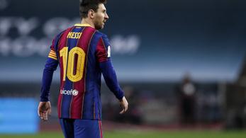 Lionel Messi pert indított