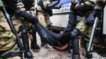 Több mint négy és fél ezer embert vettek őrizetbe az oroszországi tüntetéseken