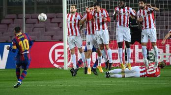 """Messi parádés góllal """"felelt"""", Griezmann döntötte el a rangadót"""