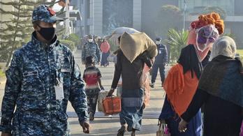 Szükségállapot Mianmarban, a hadsereg átvette az irányítást
