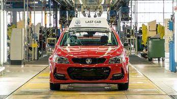 Kalapács alá került az utolsó, Ausztráliában gyártott autó