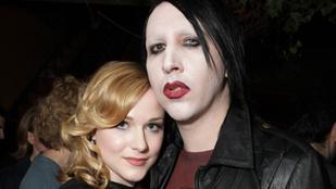 Evan Rachel Wood azt mondja, Marilyn Manson bántalmazta