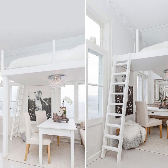 8 egészen különleges galéria apró lakásokba: szépek, és felérnek egy külön szobával