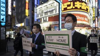 Meghosszabbították a vészhelyzetet Japánban