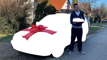 Megkaptam az autót, amit te nem mersz