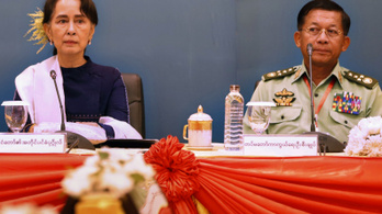 A hadsereg már át is szervezte a kormányt Mianmarban