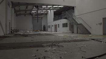 Így néz ki a Caterham Forma-1-es csapatának elhagyott bázisa