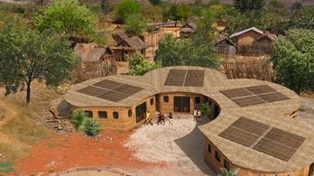 Madagaszkáron épül a világ első 3D nyomtatott iskolája