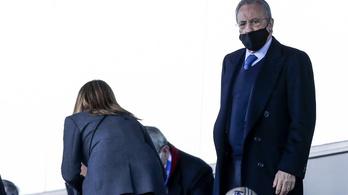 Koronavírusos a Real Madrid elnöke