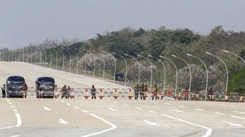 Lezárták Mianmar legfontosabb nemzetközi repterét