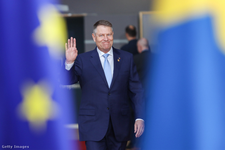Klaus Iohannis román államfő.