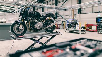 Ultramodern gyárat épít a TVS a Nortonnak