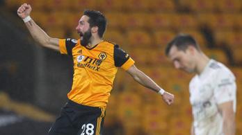 Bombagóllal nyert a Wolves az Arsenal ellen - videó