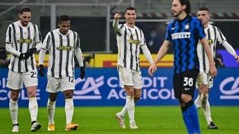 Ronaldo duplájával nyert a Juve az Inter otthonában