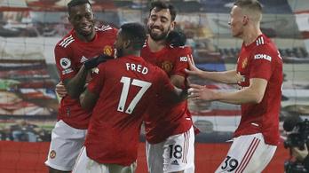 Történelmi, kilencgólos győzelmet aratott az MU a Premier League-ben