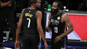 NBA: sztárjai vezérletével nyert rangadót a Brooklyn Nets