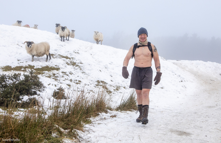 Az 55 éves férfi, aki 15, Németországban töltött év után költözött vissza szülőhazájába, Skóciába, Edinburgh környékén szokott túrázni