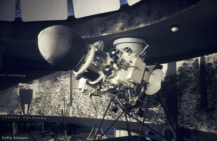 A Luna–9 leszállóegysége