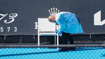 Hatszázan karanténban az Australian Open rajtja előtt