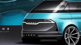 Így támadhatna fel a Škoda kisbusz