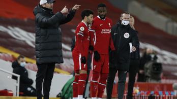 Klopp szerint mentálisan fáradt a Liverpool