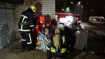 Tűz ütött ki egy ukrajnai koronavírus-kórházban, három beteg és fiatal orvosnő meghalt