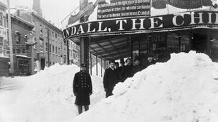 Lehetne rosszabb: így néztek ki a világ legnagyobb hóviharai