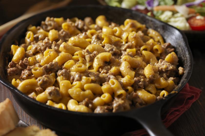 30 perces darált húsos tészta: gyors, szaftos és laktató