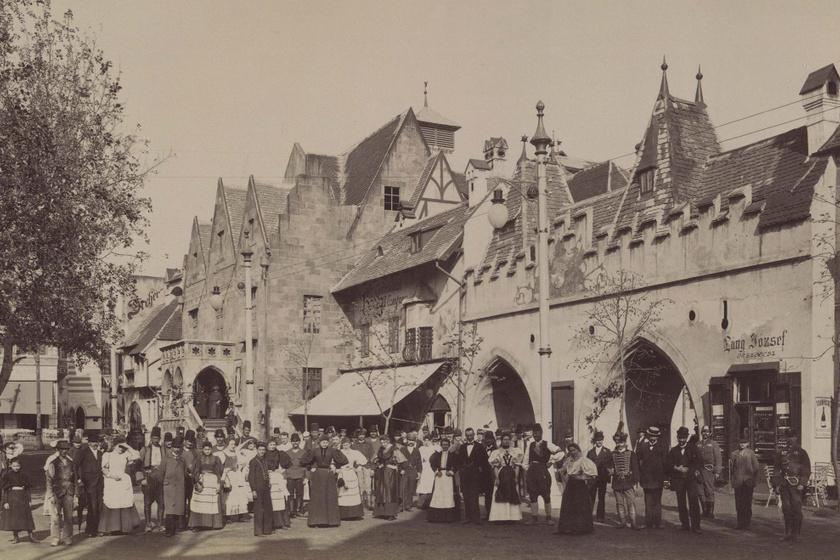 Tudod, mi állt a budapesti vidámpark helyén a 19. században? Így nézett ki a Vurstli és az Ős-Budavár