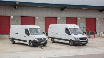 Nagy furgonokat is együtt gyárthat a Mercedes és a Renault