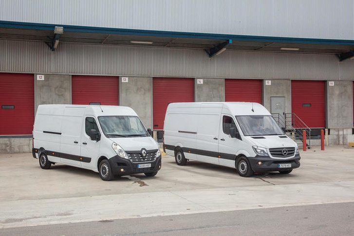 Közös alapokra kerülhet a Mercedes Sprinter és a Renault Master is