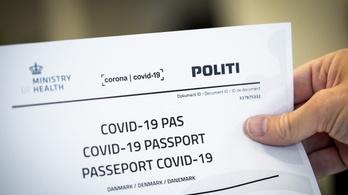 Bevezetik az oltásútlevelet Dániában