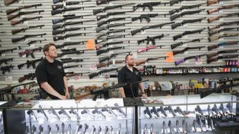 Egyre több lőfegyvert vesznek az amerikaiak