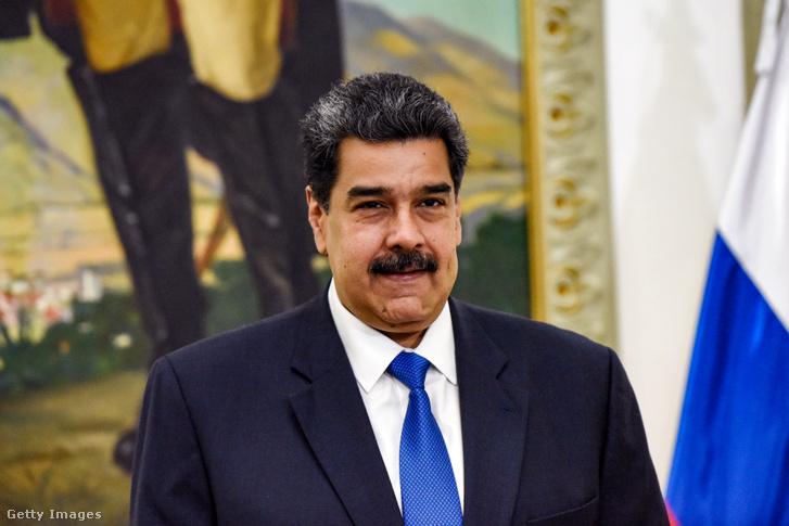 Nicolas Maduro Venezuela elnöke 2020. február 7-én