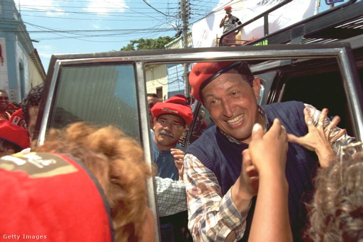 Hugo Chávez 1998-ban