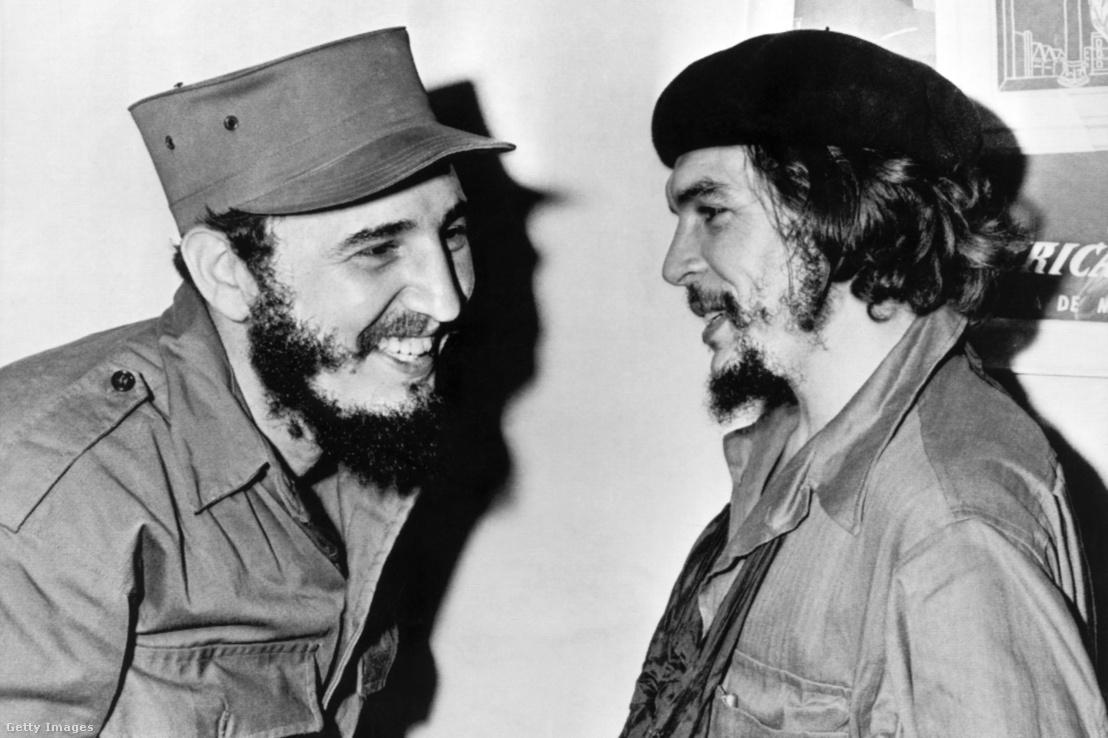 Fidel Castro és Che Guevara 1959-ben