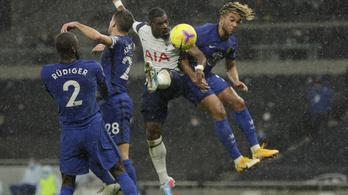 A Tottenham sem tudta feltörni a Chelsea-reteszt