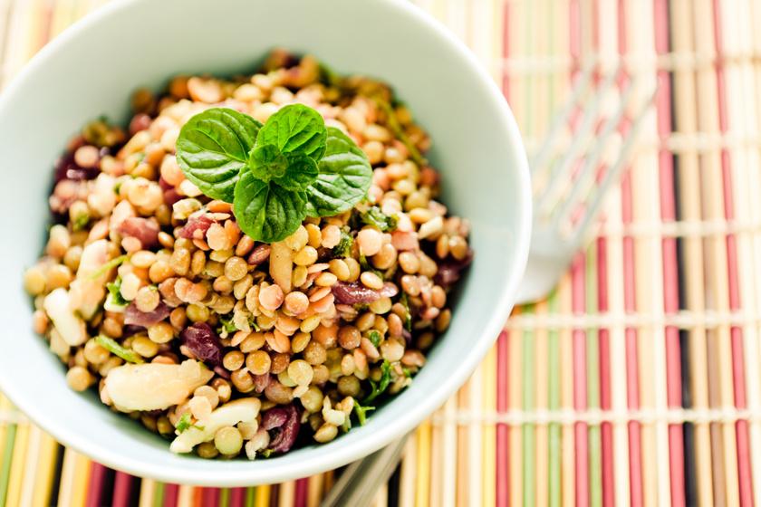 lencse-salata