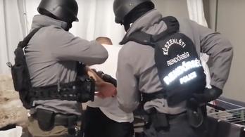 Hatfős drogbandát kapcsoltak le a rendőrök Győrben – videó