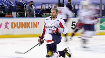 Ovecskin megint előrelépett egy helyet az NHL örökranglistáján