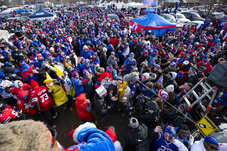 A Buffalo Bills tailgate-jei is legendásak