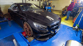 Átverés a 850 lóerős Brabus Mercedes?