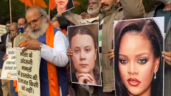 Greta Thunberget sem kedveli az indiai kormány