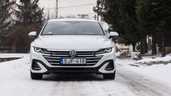 Teszt: Volkswagen Arteon Shooting Brake 2.0 TDI R-Line - 2021.