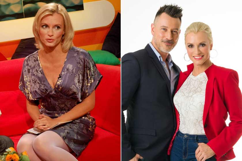 Dombóvári Vanda 2007-ben a Reggeliben, és 2020-ban Somogyi Zoltán oldalán az ÉletmódKalauz című műsorban.